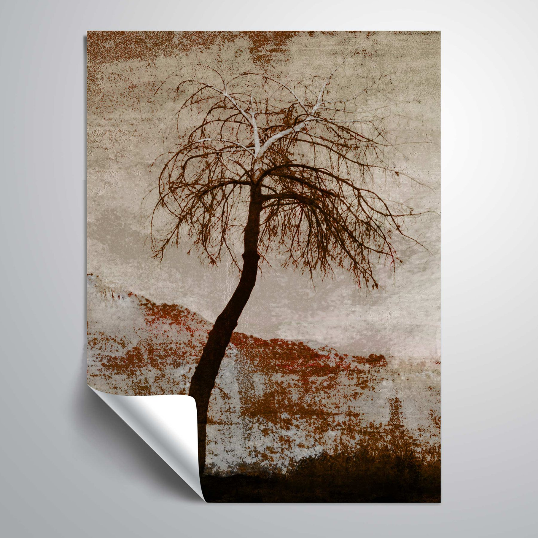 Brushstone In Silence Viii Vinyl Wall Decal  6Ary069A1418P