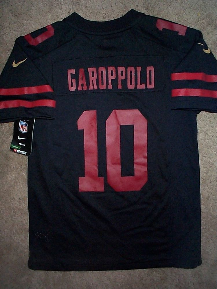 IRREGULAR  San Francisco 49ers JIMMY GAROPPOLO nfl NIKE Jersey Youth  (m-medium)   29.94 End Date  Thursday Nov-29-2018 8 40 08 PST Buy It… dd1a627b4