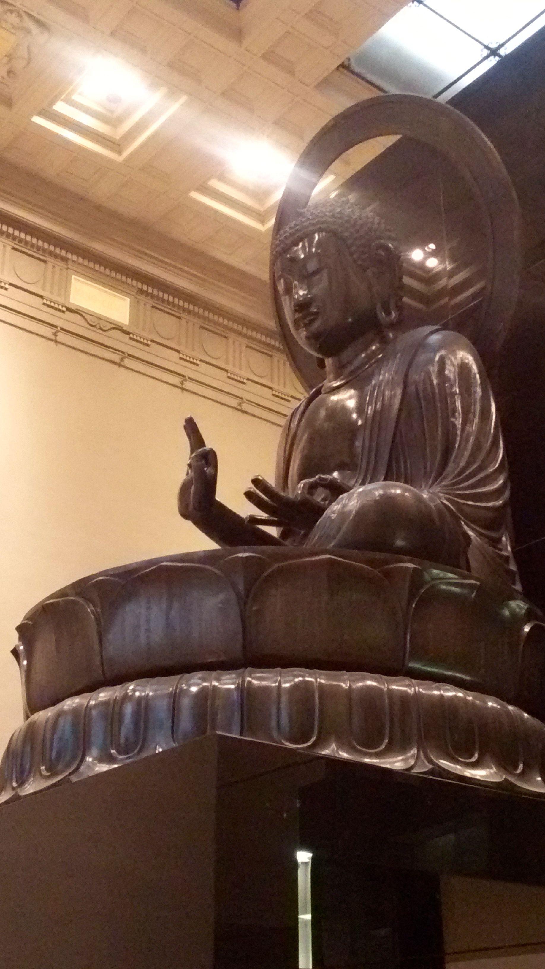 Le bouddha Amitabha au Musée Cernuschi