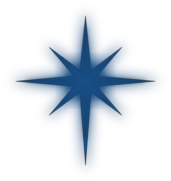 Christmas Clip Art North Star.Christmas North Star Clipart 6 Hussain Star Clipart