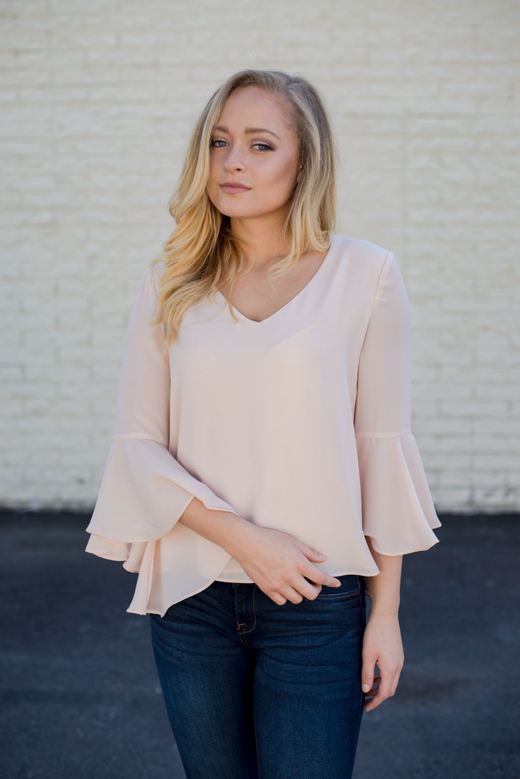 Hopeless Romantic Blouse Sheer Fabrics Blush Pink And Compliments