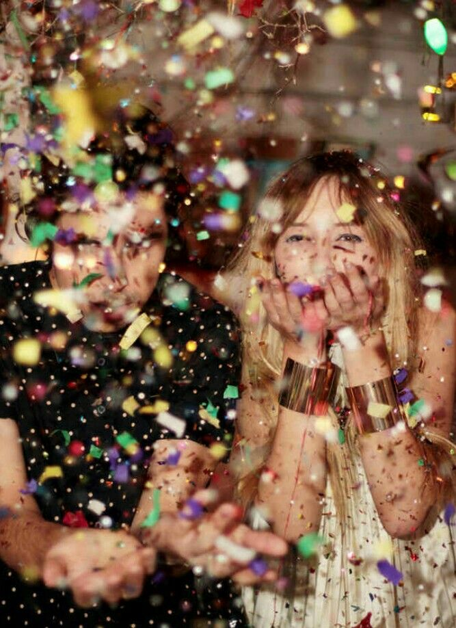 I will take this picture with my older sister. I love the glitter.