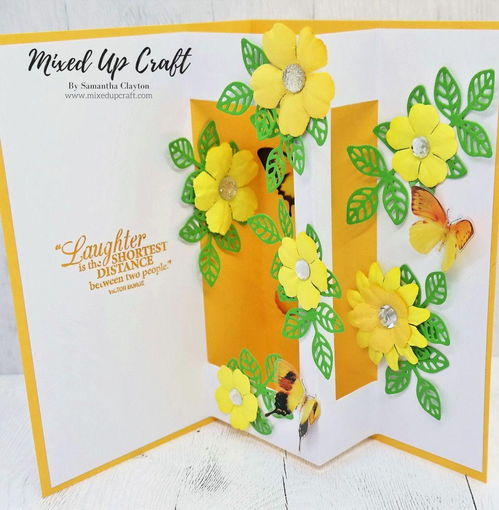 Inside Pop Up Card | Birthday card pop up, Card craft, Birthday card craft