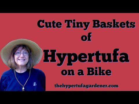 Cute Little Bike! Let's Tufa It! - The Hypertufa Gardener