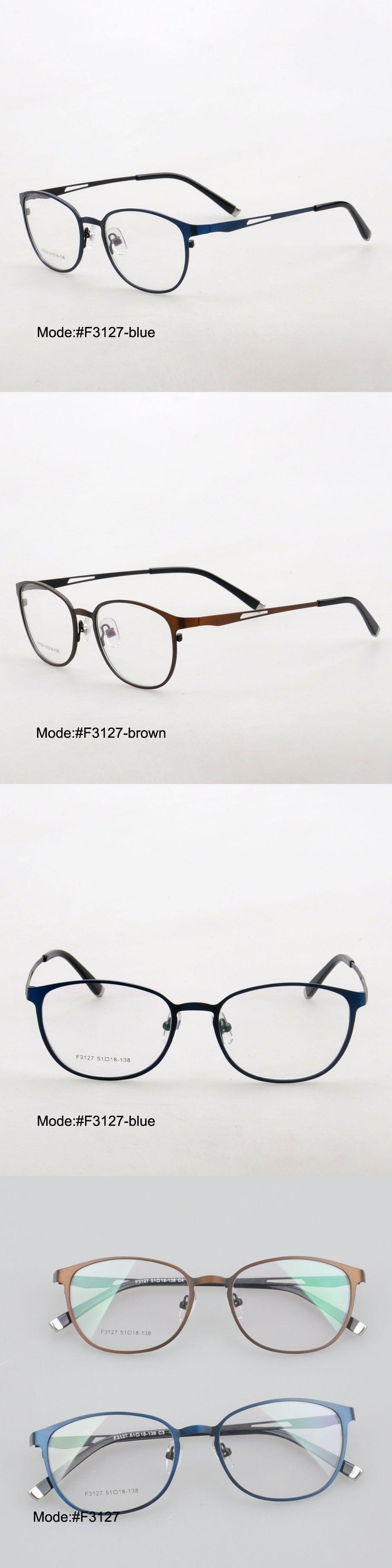 MY DOLI F3127 full rim men style stainless steel RX optical frames ...