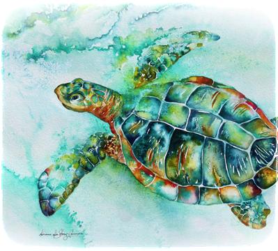 Pin By Katie Hogan On Inked Culture Turtle Watercolor Sea Turtle Art Turtle Art