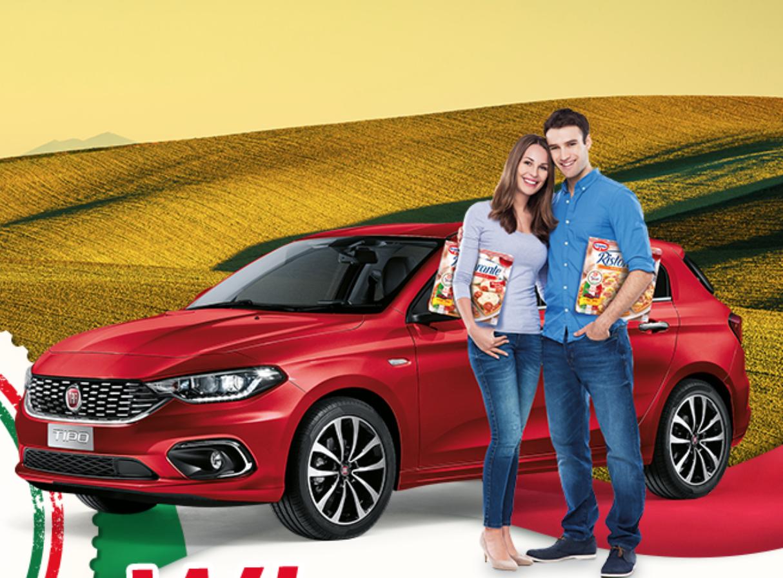 Win een Gratis Auto van Fiat 500 Tipo OF 1 van de 1000 gratis Pizza Packs 🚗 🍕Share 👉