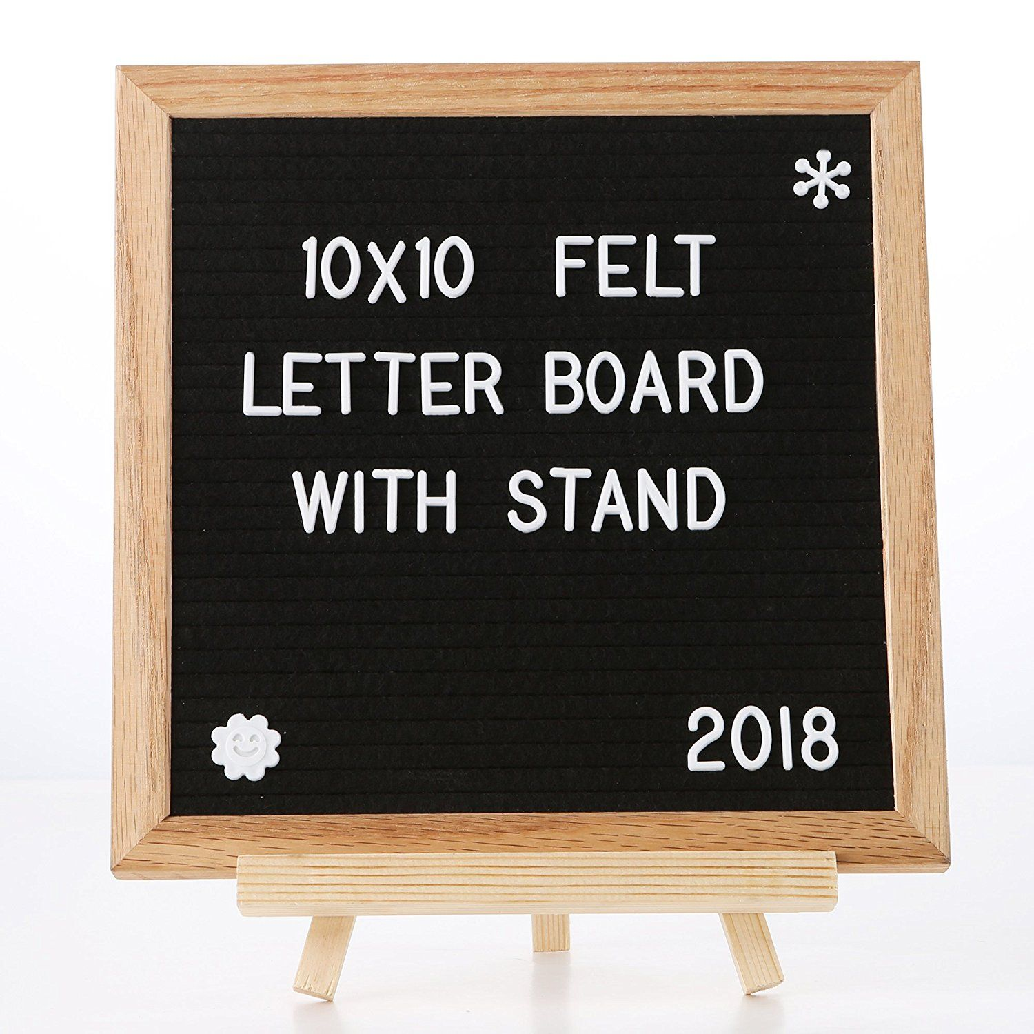 Amazon Com Spacecare Letter Board 10 X 10 Inches With 360pcs Letters Changeable Felt Letter Board For Office Re Felt Letter Board Felt Letters Letter Board