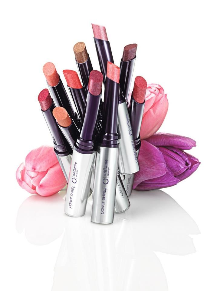 .Oriflame Beauty Power Shine!  Love it. Farge sexy plum passer de fleste . Tar imot bestilling