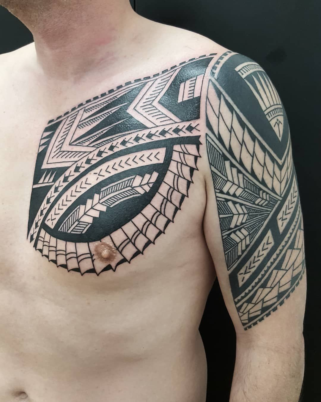 Freehand Samoan Style Upper Arm At Zeletattoopiercing Tattoos