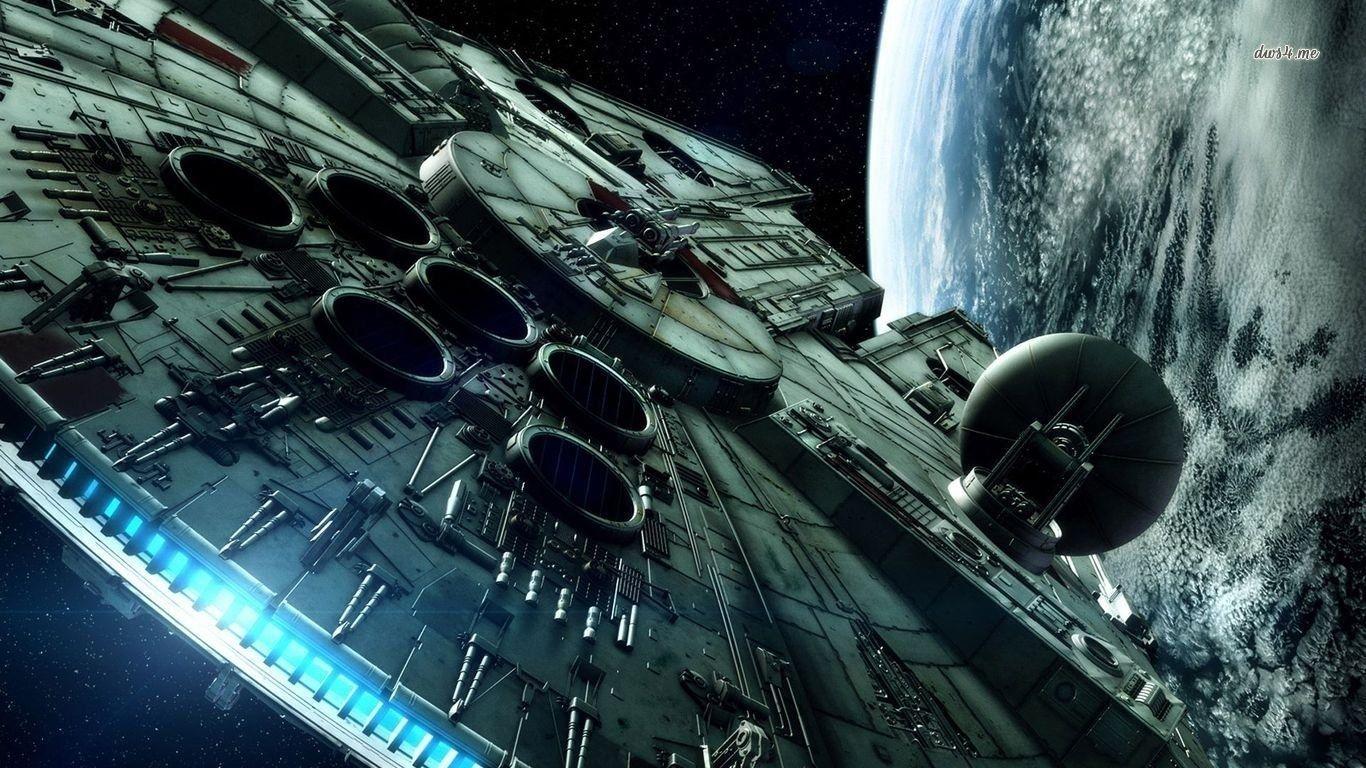 10 Latest Star Wars Millennium Falcon Wallpaper Full Hd 1920 1080 For Pc Background Star Wars Wallpaper Millenium Falcon Star Wars Ships