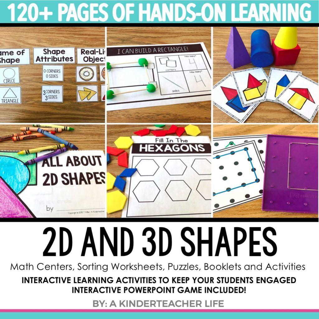 12 Hands On Shape Activities
