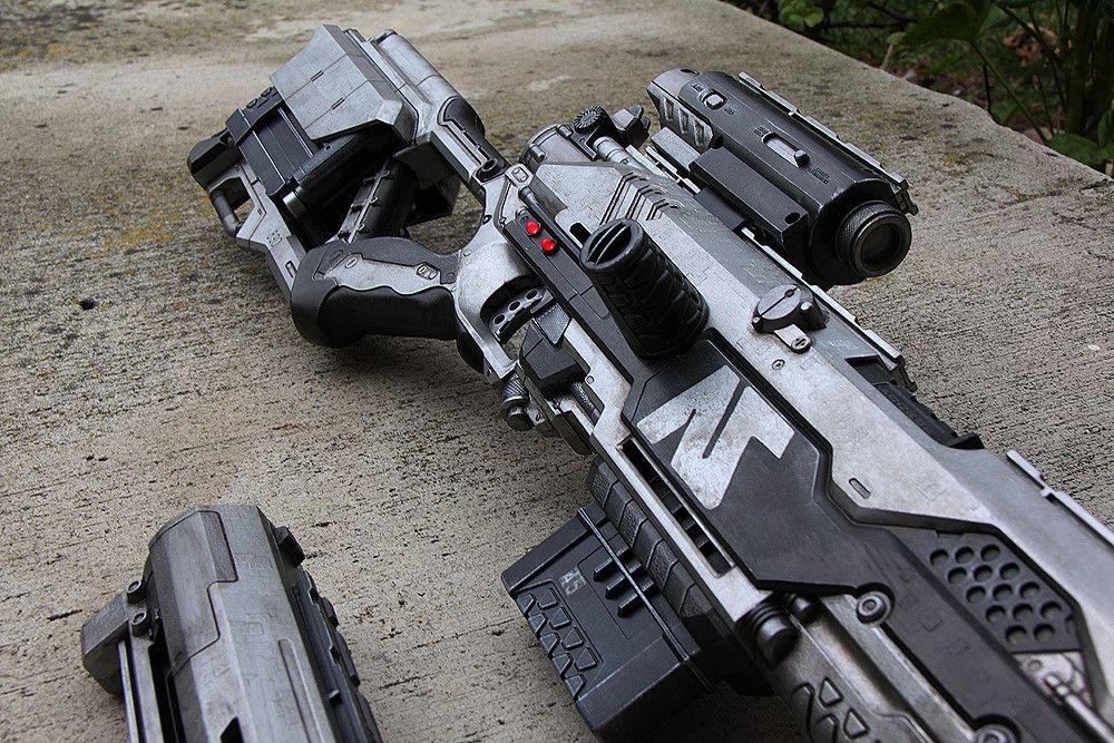 painted nerf gun by melliepivot ...