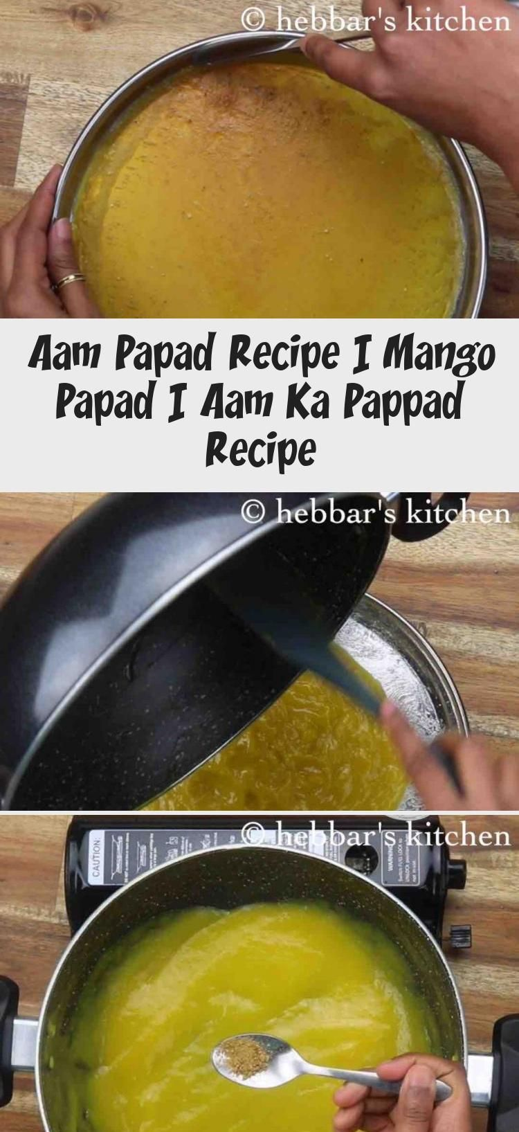 Photo of aam papad recipe | mango papad | Your pappad recipe with detailed photo and vi …