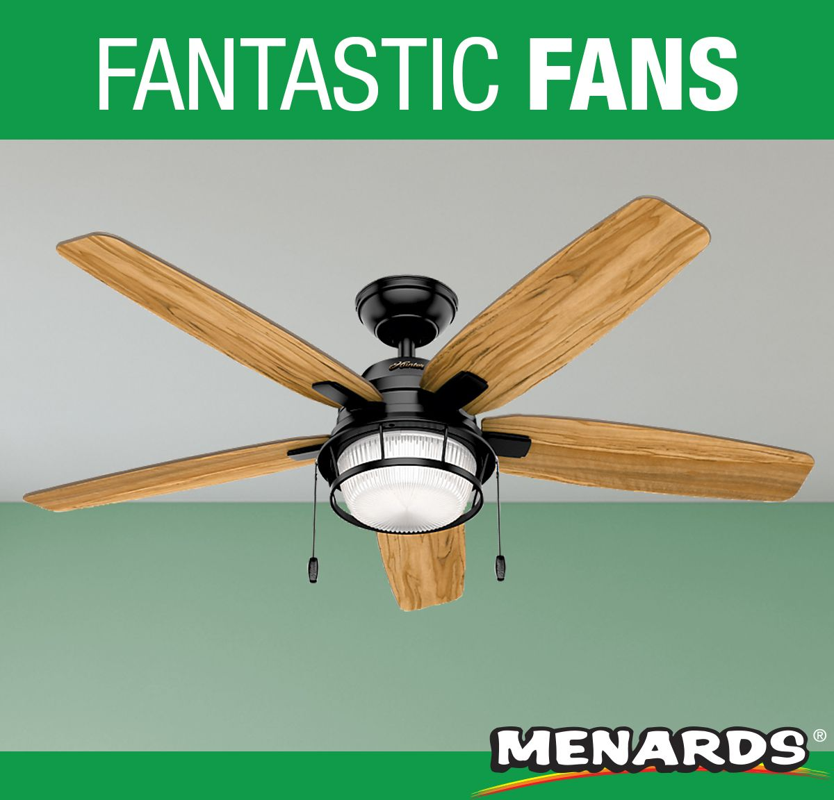 Whether Your Style Is Industrial Or Coastal The Hunter 52 Bolivar Ceiling Fans Will Fit It Seamlessly This Fan Was Ceiling Fan Outdoor Sunroom Farms Living