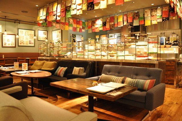 マンゴツリー カフェ ルミネ池袋店 池袋 タイ料理 3 14 大好評 平日時間制限なし ランチは17時迄 ディナーは23時迄 ソファ 店舗 カフェ タイ料理
