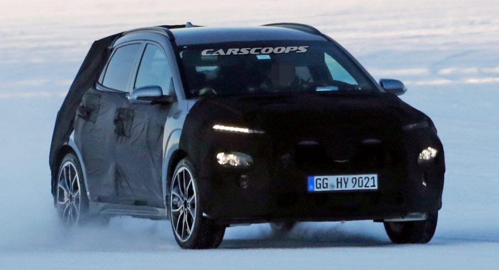 2021 Hyundai Kona N Hides Athletic Crossover Body Beneath