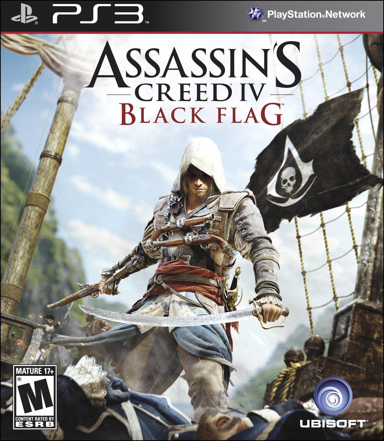 Amazon Com Assassin S Creed Iv Black Flag Playstation 3 Video