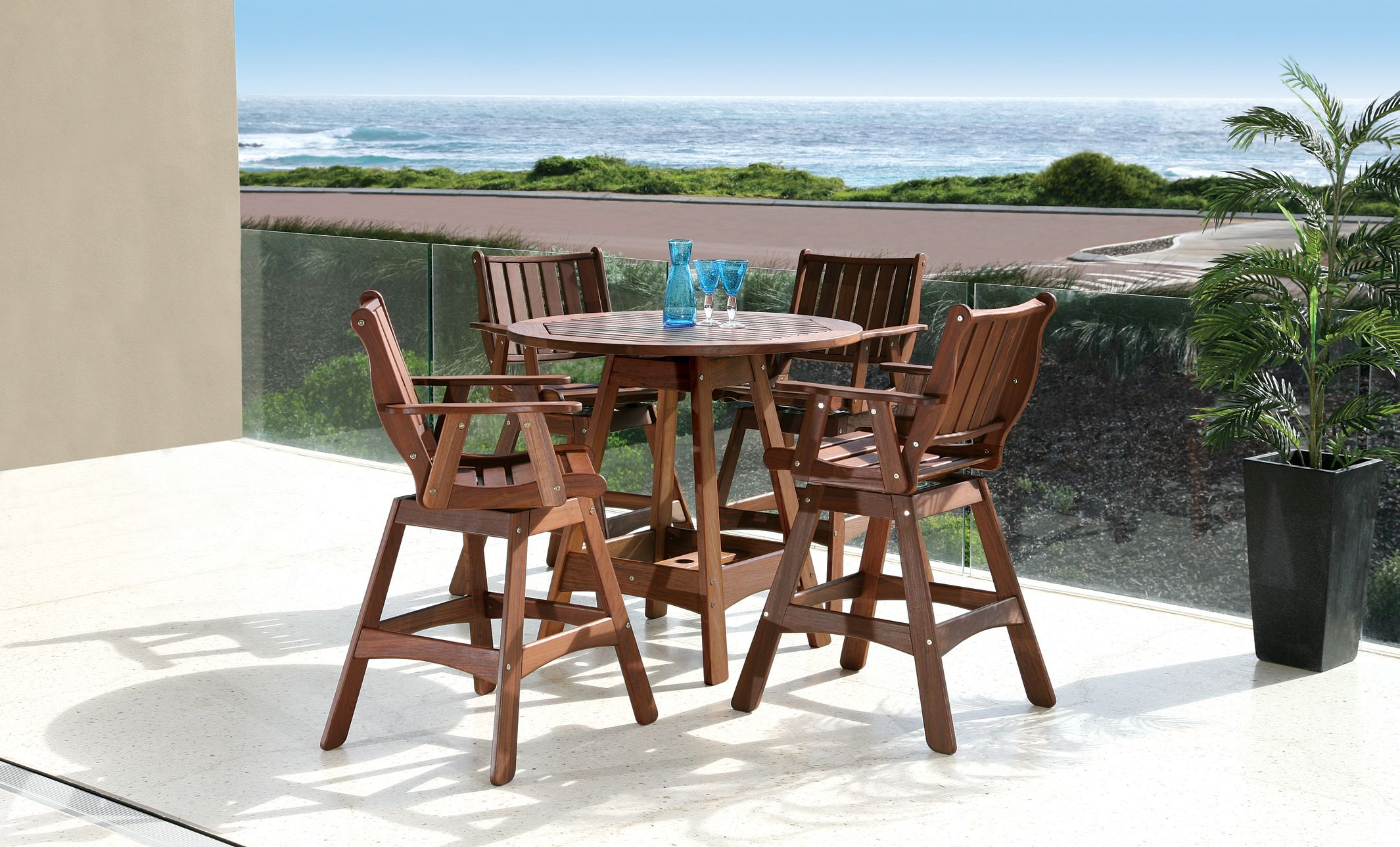 Integra High Dining By Jensen Leisure Patio Furniture Dining