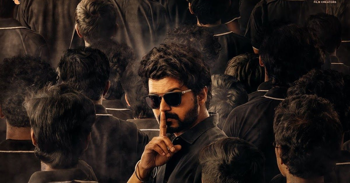 Master Movie Second Look Thalapathy Vijay Movies Master Thriller Movies