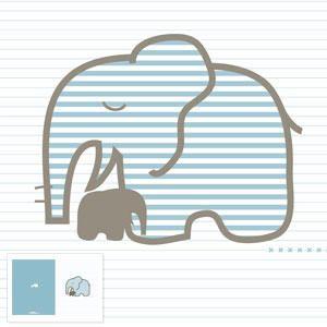 Elefante con bebé