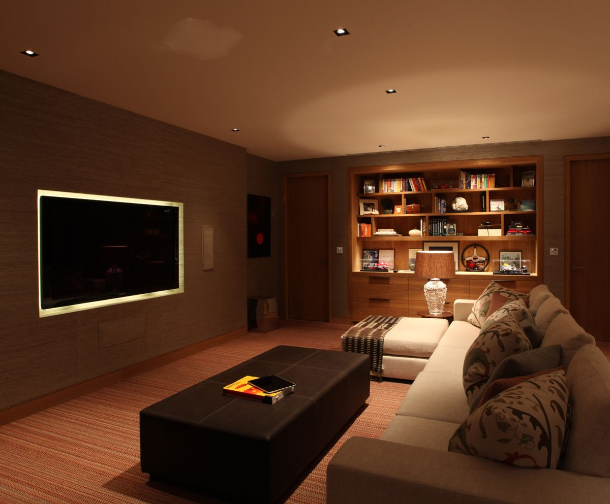 When Considering Your Home Theatre Lighting, The First Step Is To Look At  The Furniture Arrangement U2013 Where Is The Screen Going To Be And How Will  The ...