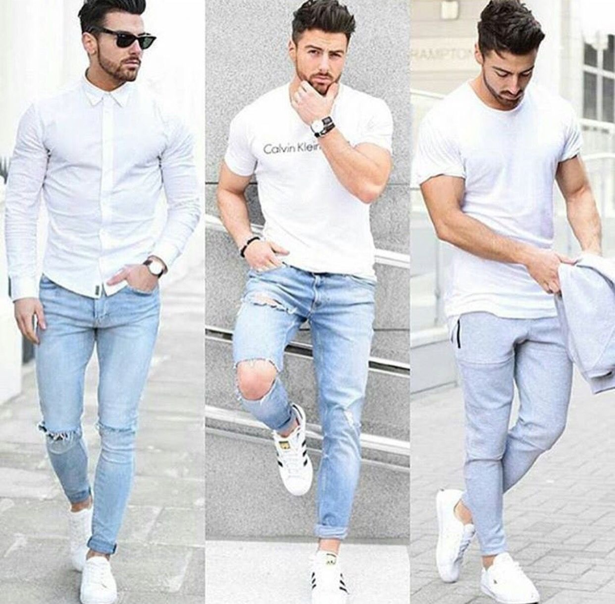 Pin De Pond Puod En Fashion Men Casual Ropa De Hombre