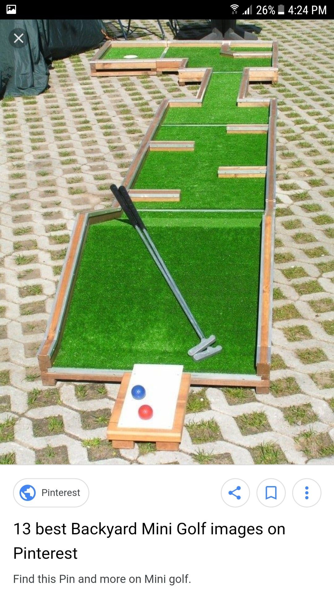 Pin by Ziad Khalil on outside games Mini golf, Miniature