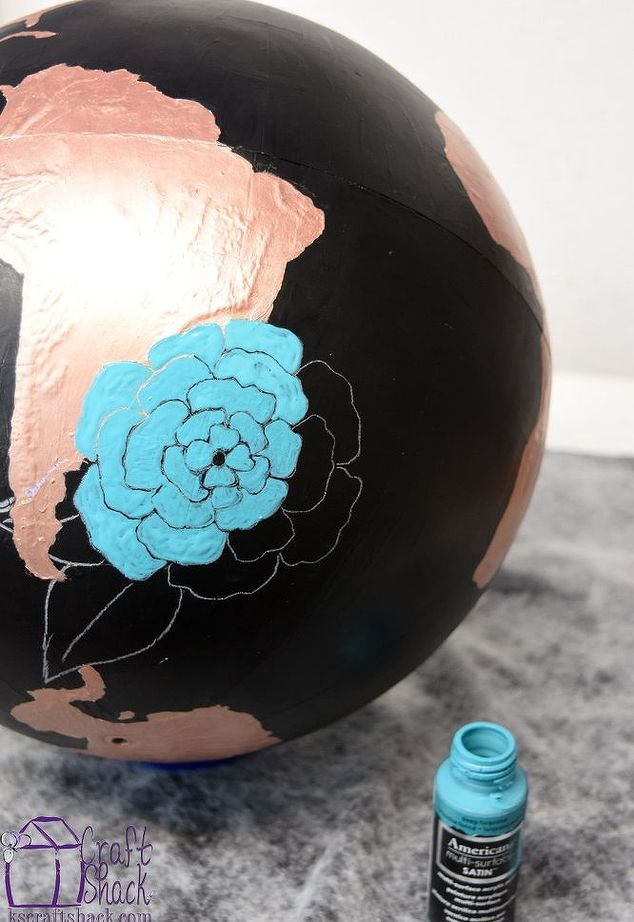 Charmant Altered World Globe Art, Chalkboard Paint, Crafts, Home Decor, Painting