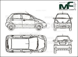 Пин от пользователя Model COPY на доске Daewoo blueprints
