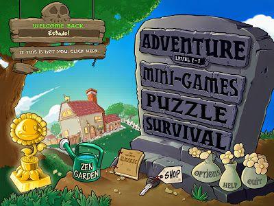 Resultado De Imagen Para Casa De Plants Vs Zombies Plants Vs Zombies Plants Vs Zombies Birthday Party Video Game Reviews