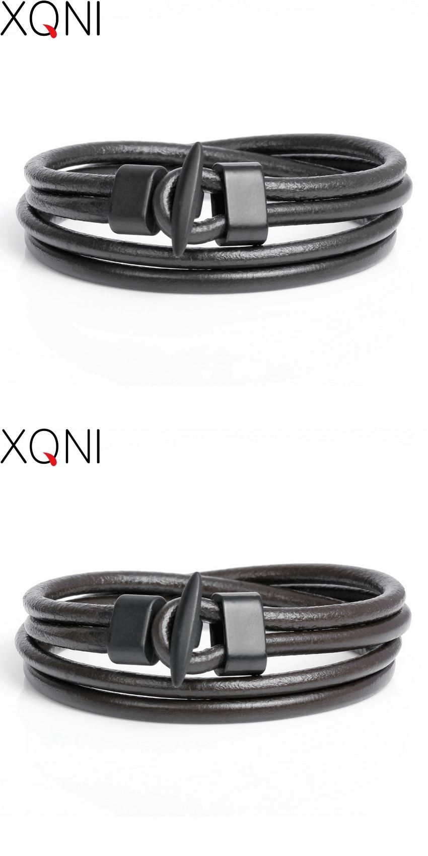 Visit to buy new arrival fashion leather menus bracelets
