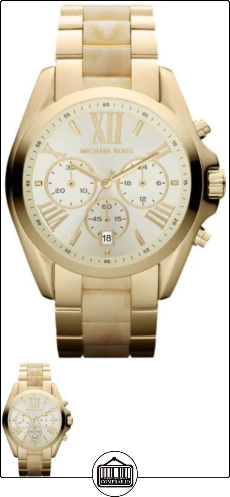 3a9fd35a7 Michael Kors MK5722 - Reloj para mujer con correa de acero/ceramica, color  dorado