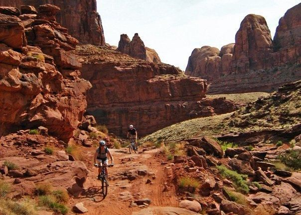 My Top Five The Best Mountain Bike Trails In Moab Mountain Bike