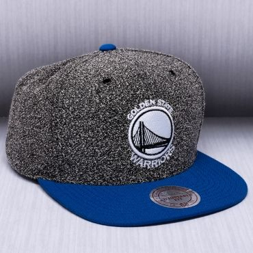 premium selection 23179 879fe Mitchell   Ness NBA Golden State Warriors Static 2 Tone Snapback Cap