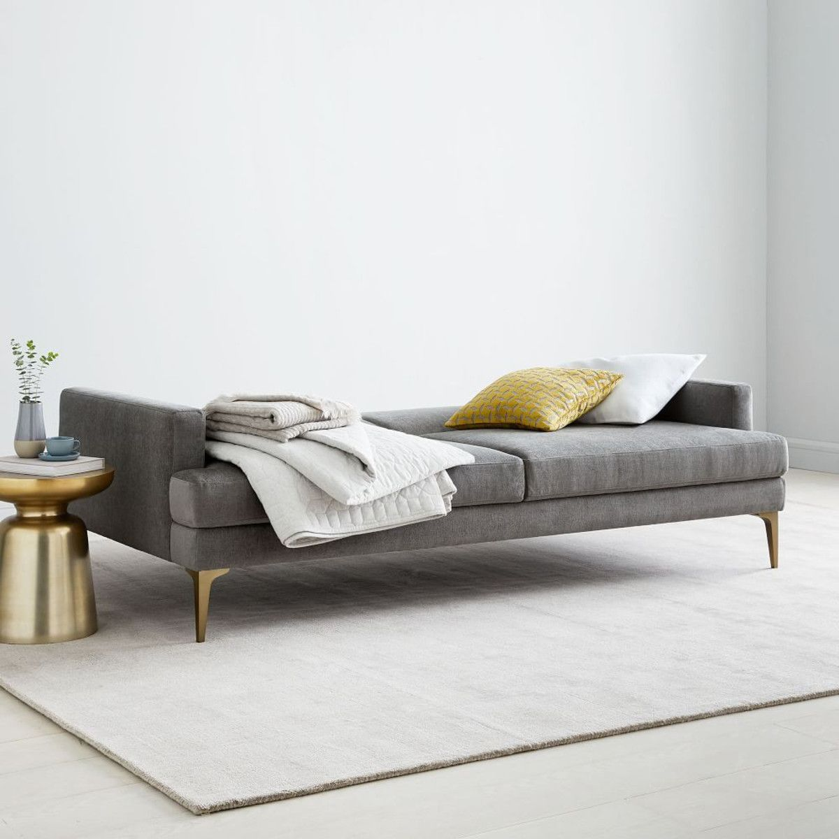 Andes Double Sofa Bed (212 cm) Sleeper sofa, Futon sofa