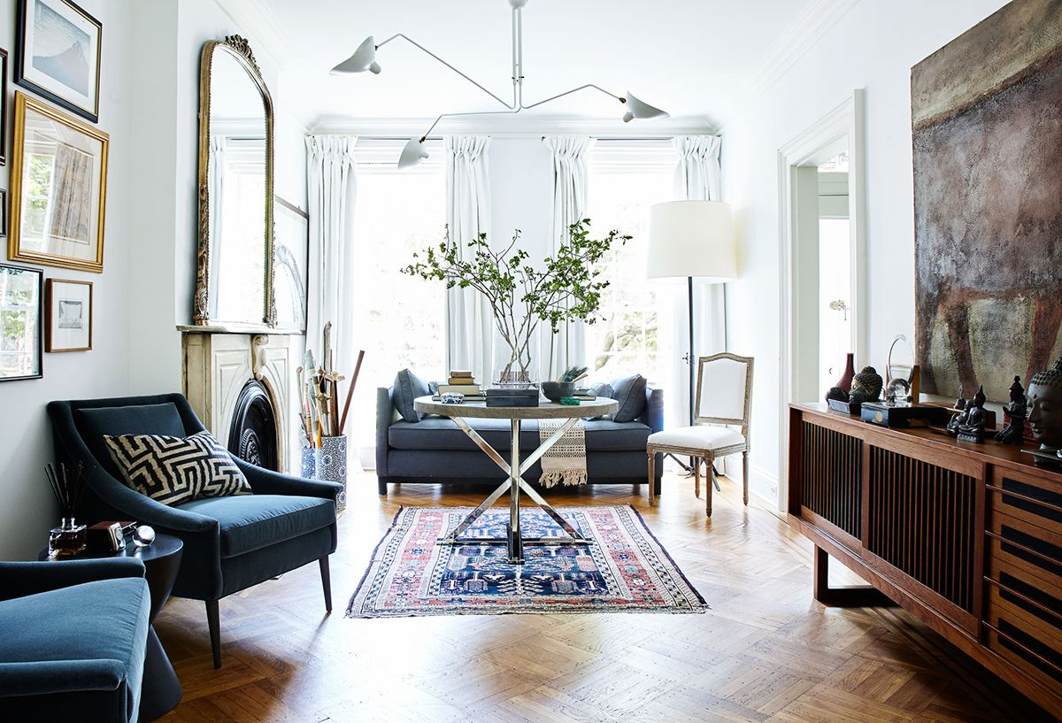 A Glamorous Brooklyn Brownstone Eclectic Interior De