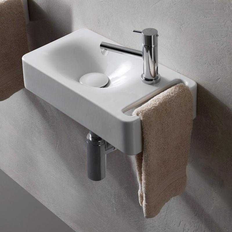 Scarabeo Hung Wall Mounted Washbasin 1513 Reuter Shop Small
