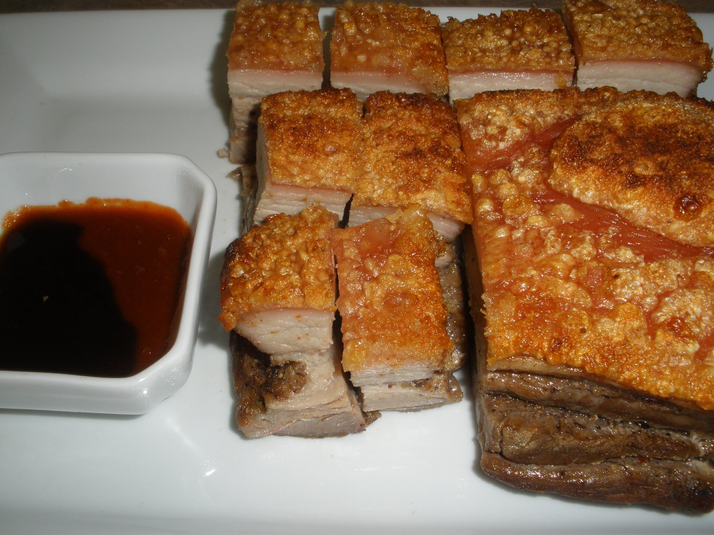 Roasted pork belly recipe just chinese food pinterest roasted pork belly recipe forumfinder Image collections