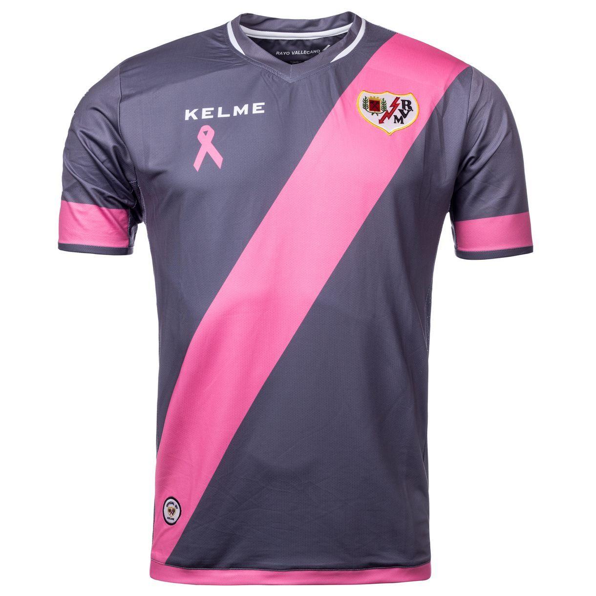 Rayo Vallecano de Madrid Spain 2015 2016 Kelme Third Shirt