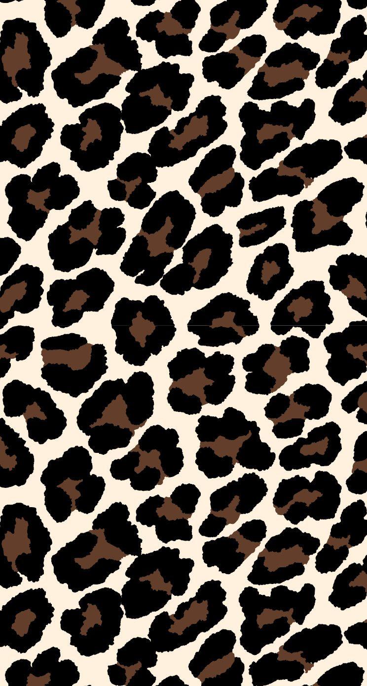 Leopard Dark Monochrome Iphone X Leopard wallpaper