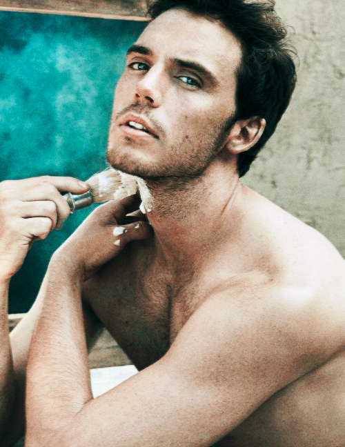 sam claflin weight and height