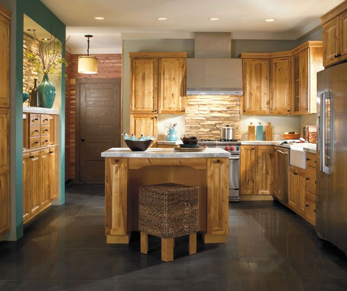 Rustic Pine Kitchen Cabinets: Aristokraft Rustic Kitchen Cabinets