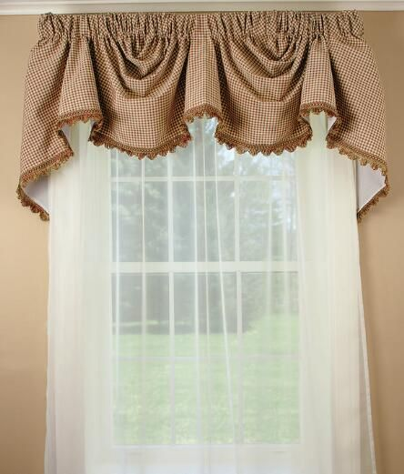 Colebrook Austrian Valance Country Curtains Country Curtains