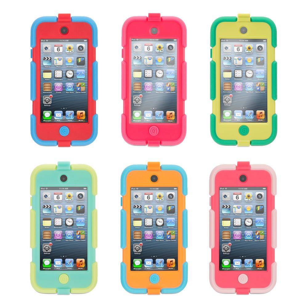 new style b40f3 861c1 Survivor All-Terrain Heavy Duty Case + Belt Clip for iPod Touch (5th ...