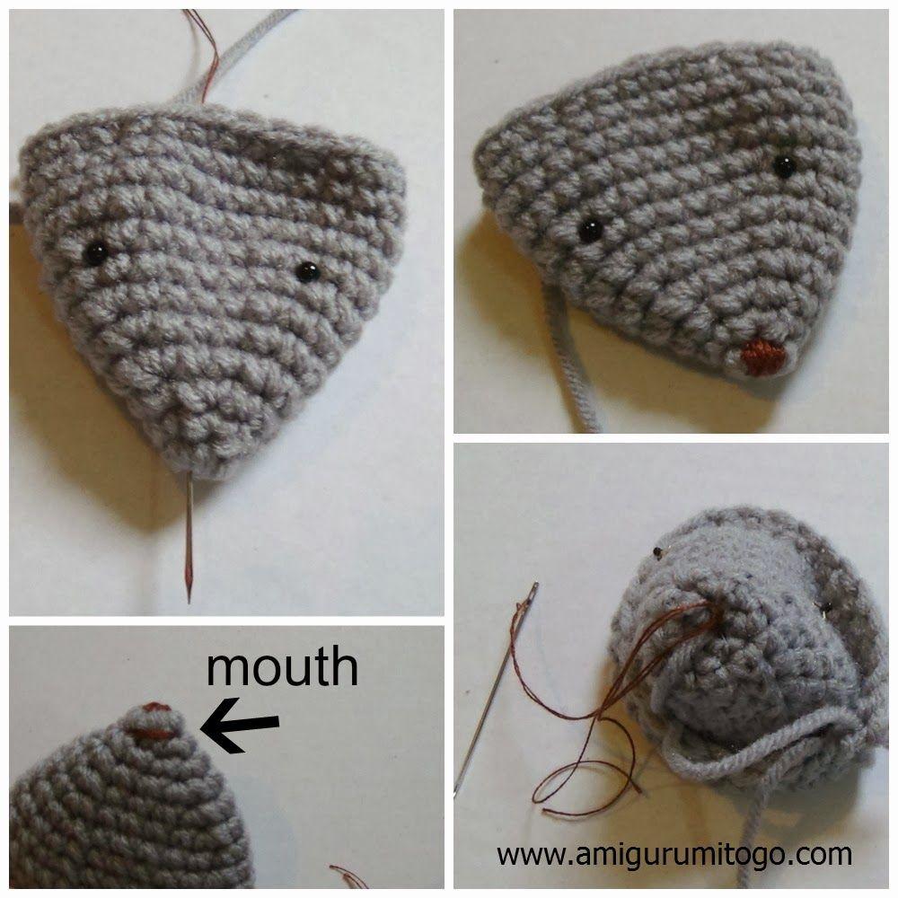 Crochet Amigurumi Mouse With Video Tutorial
