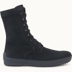 Photo of Tod's – botines de ante de gommino de invierno, negro, 7 – zapatos tod's