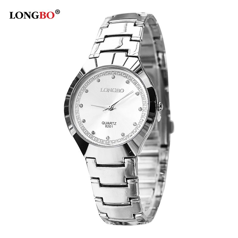 dfe8002e891 Click to Buy    LONGBO Luxury Brand Men Women Brief Casual Quartz Crystal.