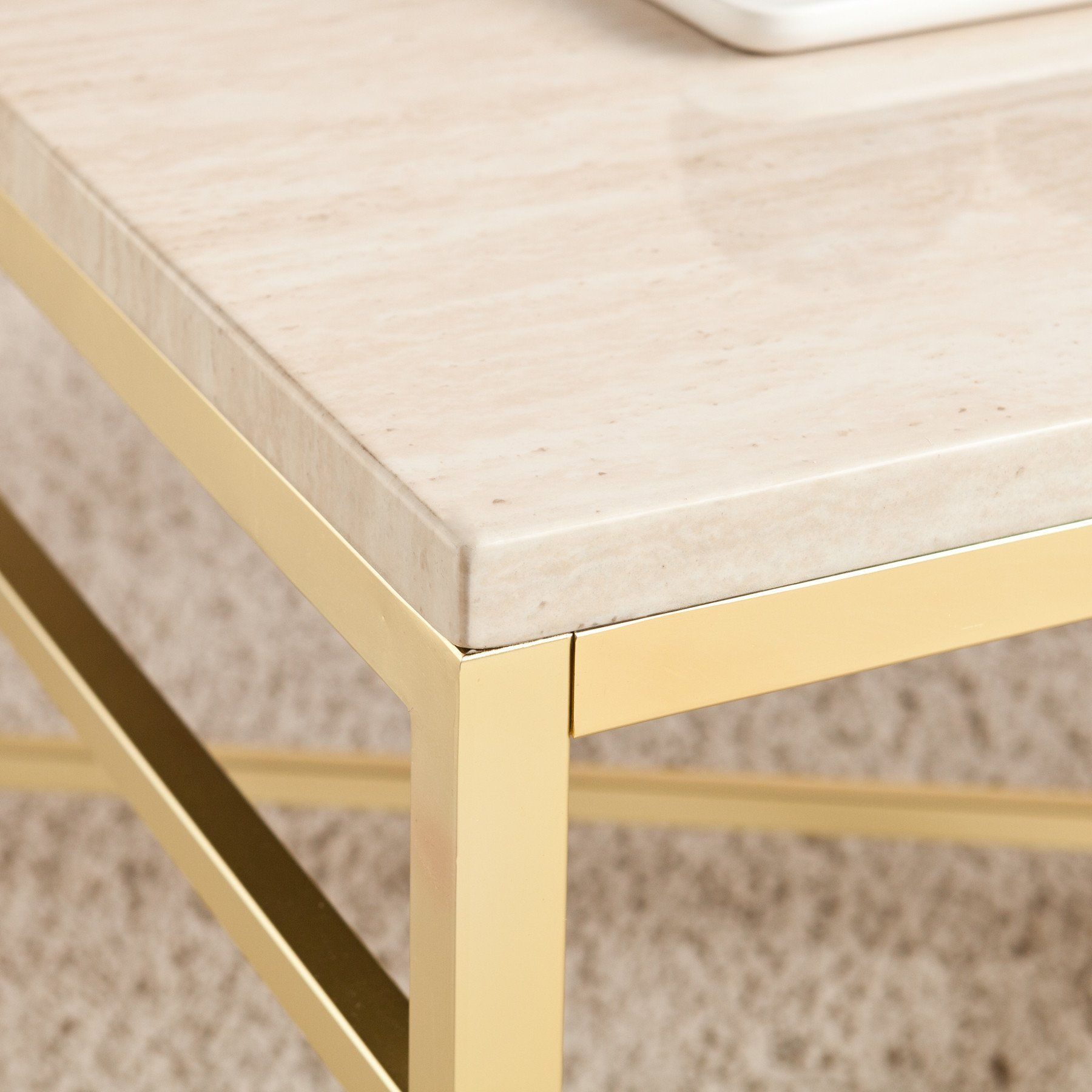 Ori Faux Stone Coffee Table Stone Coffee Table Cocktail Tables