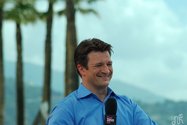 Nathan Fillion by anagrammes, via Flickr